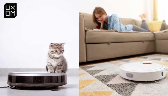 robot aspirador para pelo de gato